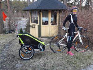 Sinnasport pyöräilyä