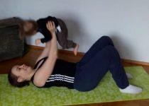 harjoittelu lapsen kanssa